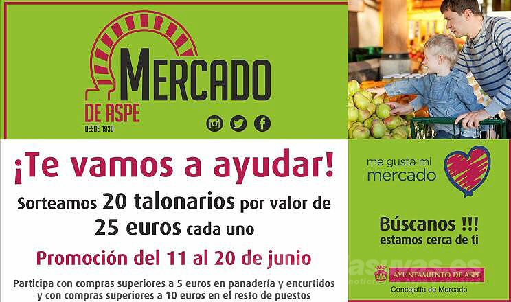 Sorteo Mercado Aspe